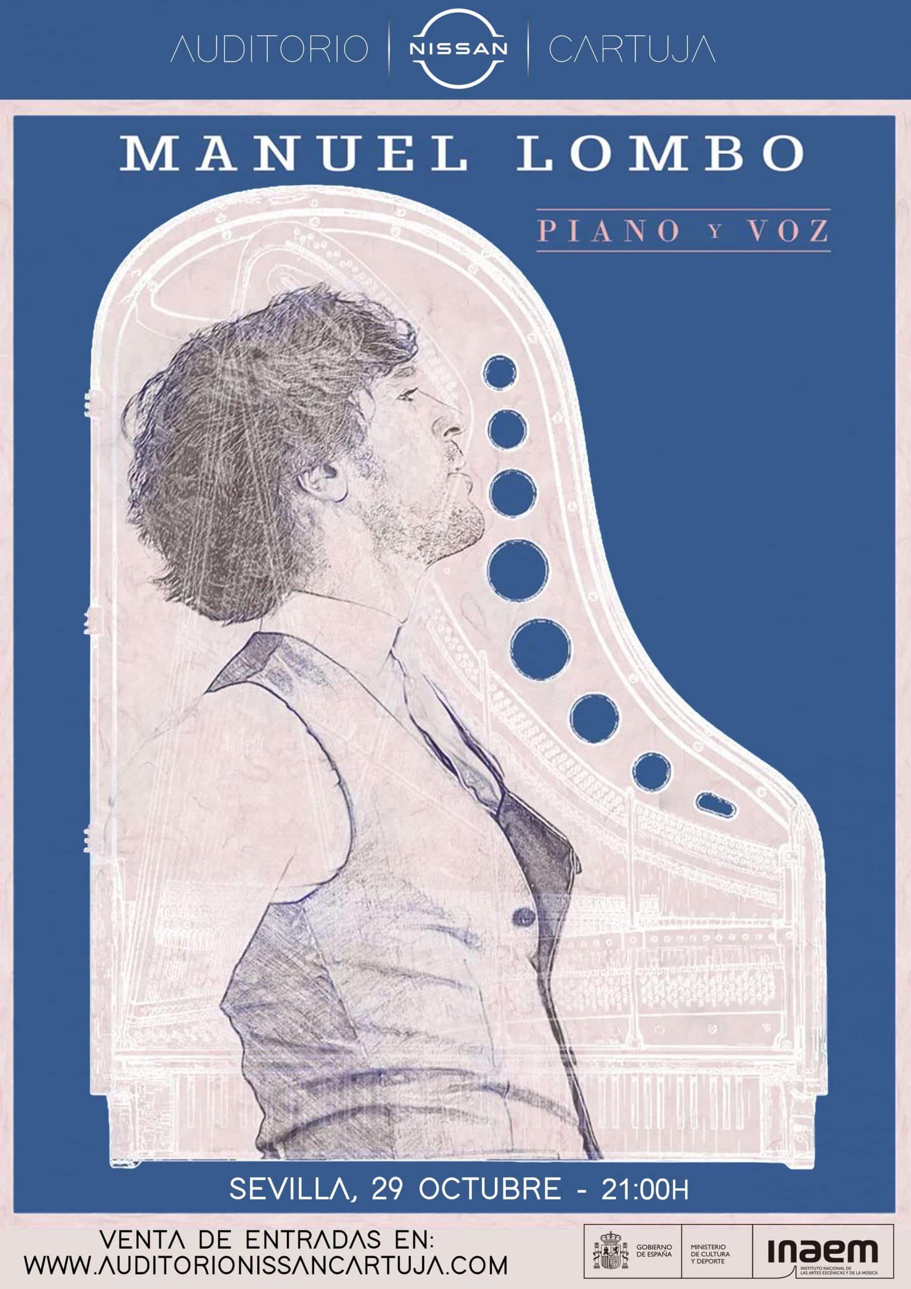 CONCIERTO MANUEL LOMBO – PIANO Y VOZ