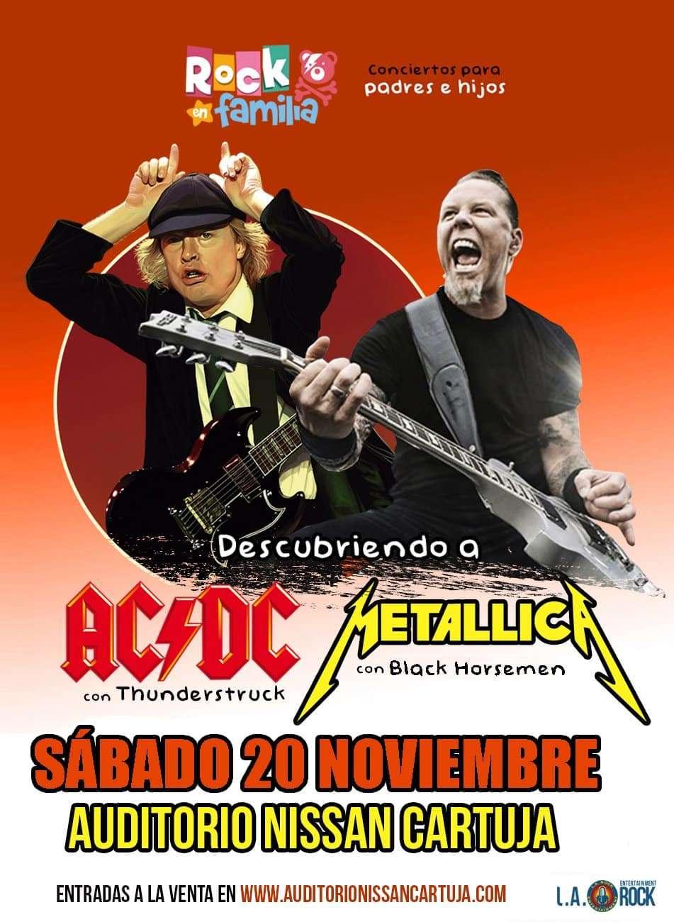 ROCK EN FAMILIA – DESCUBRIENDO A AC/DC Y METALLIC
