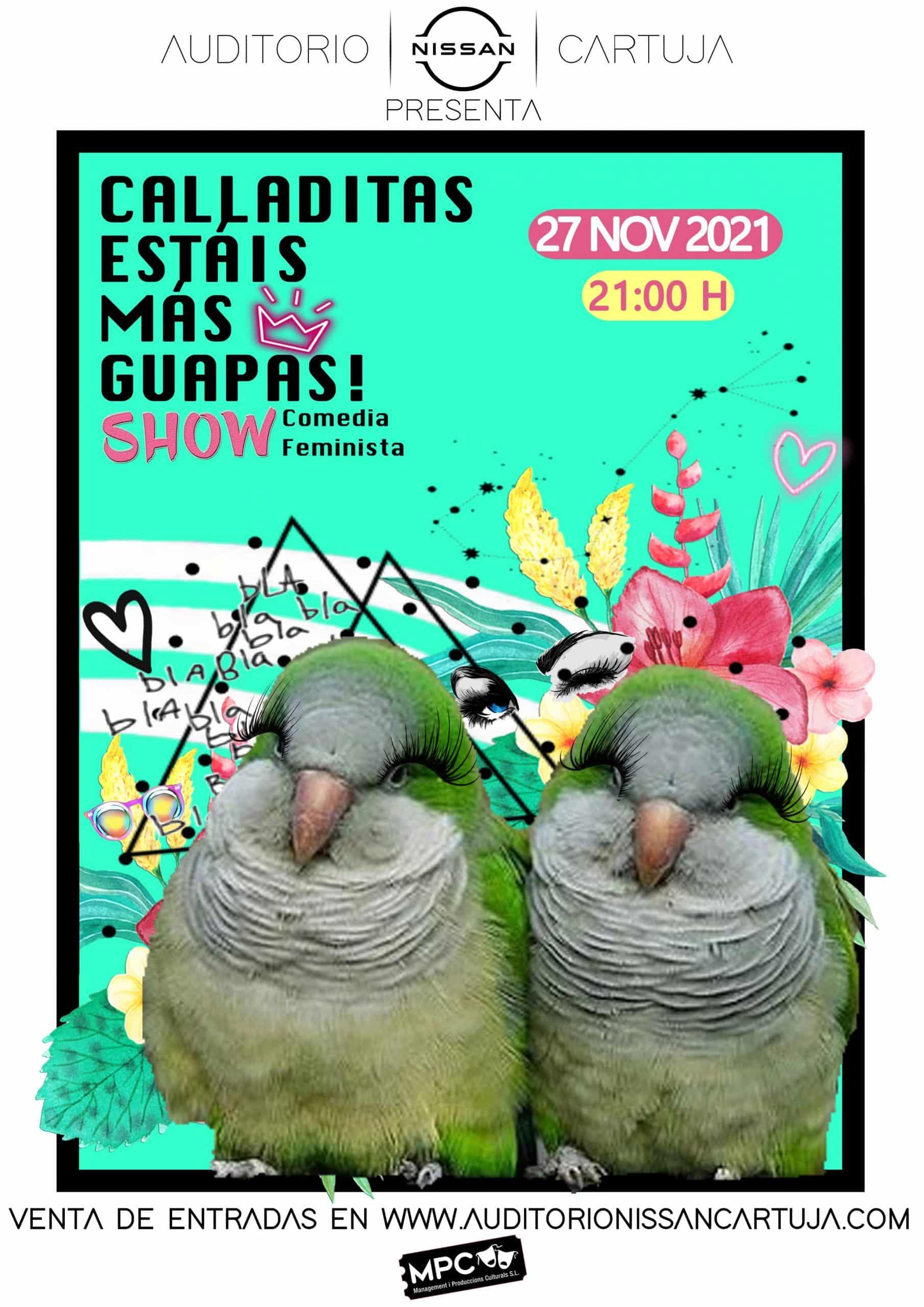 CALLADITAS ESTÁIS MÁS GUAPAS