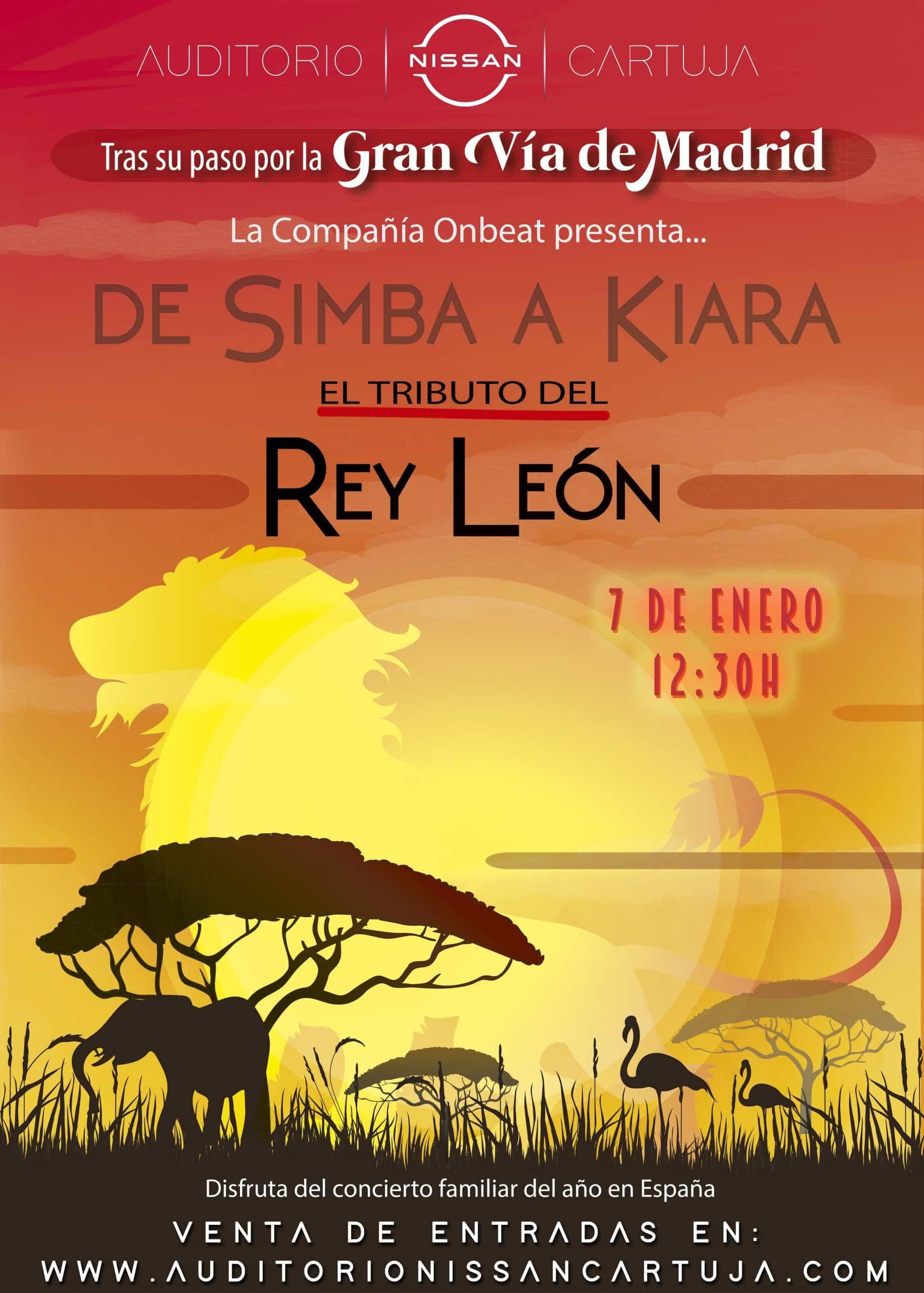 DE SIMBA A KIARA – TRIBUTO DEL REY LEÓN
